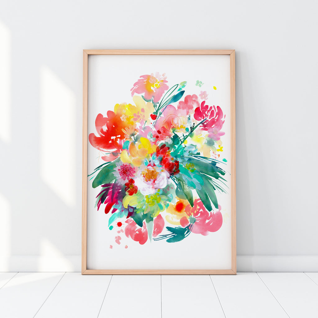 Wild Bouquet, Original | Ingrid Sanchez - CreativeIngrid | Ingrid Sanchez