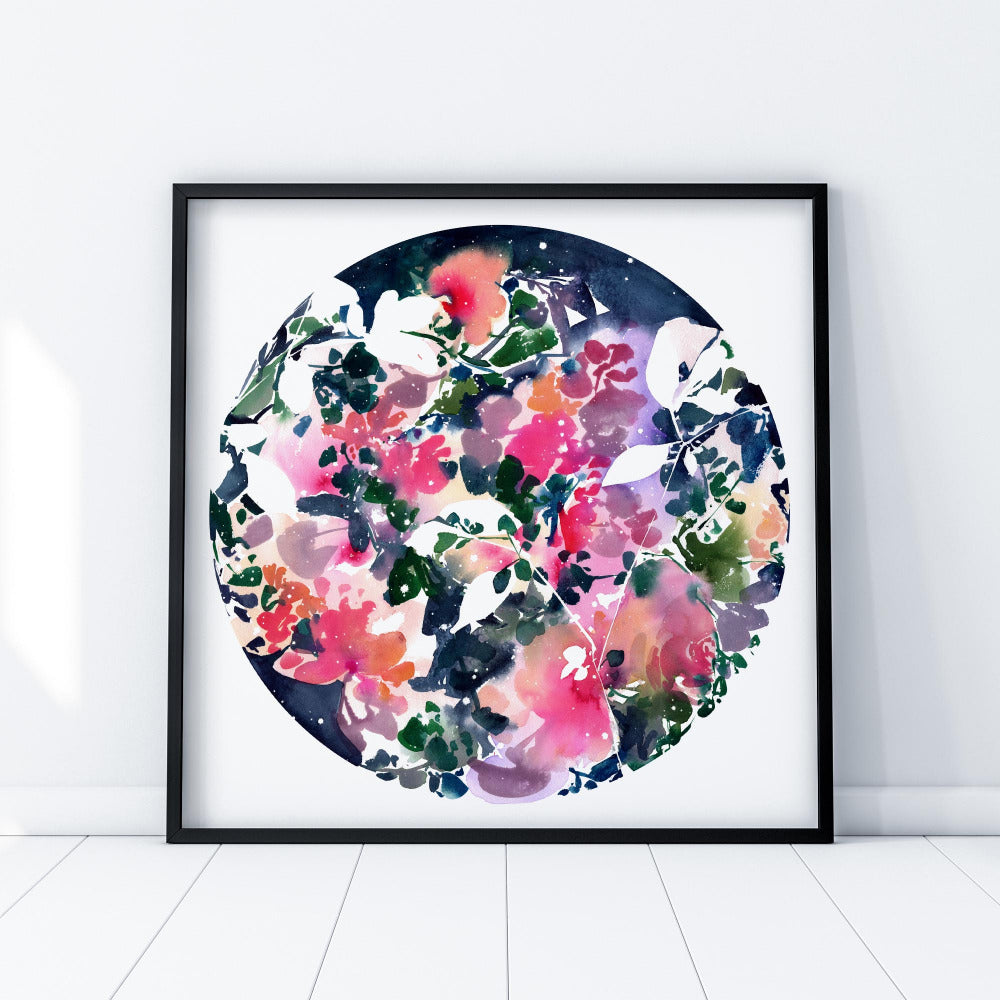 Blooming Sky - Art Print - CreativeIngrid | Ingrid Sanchez