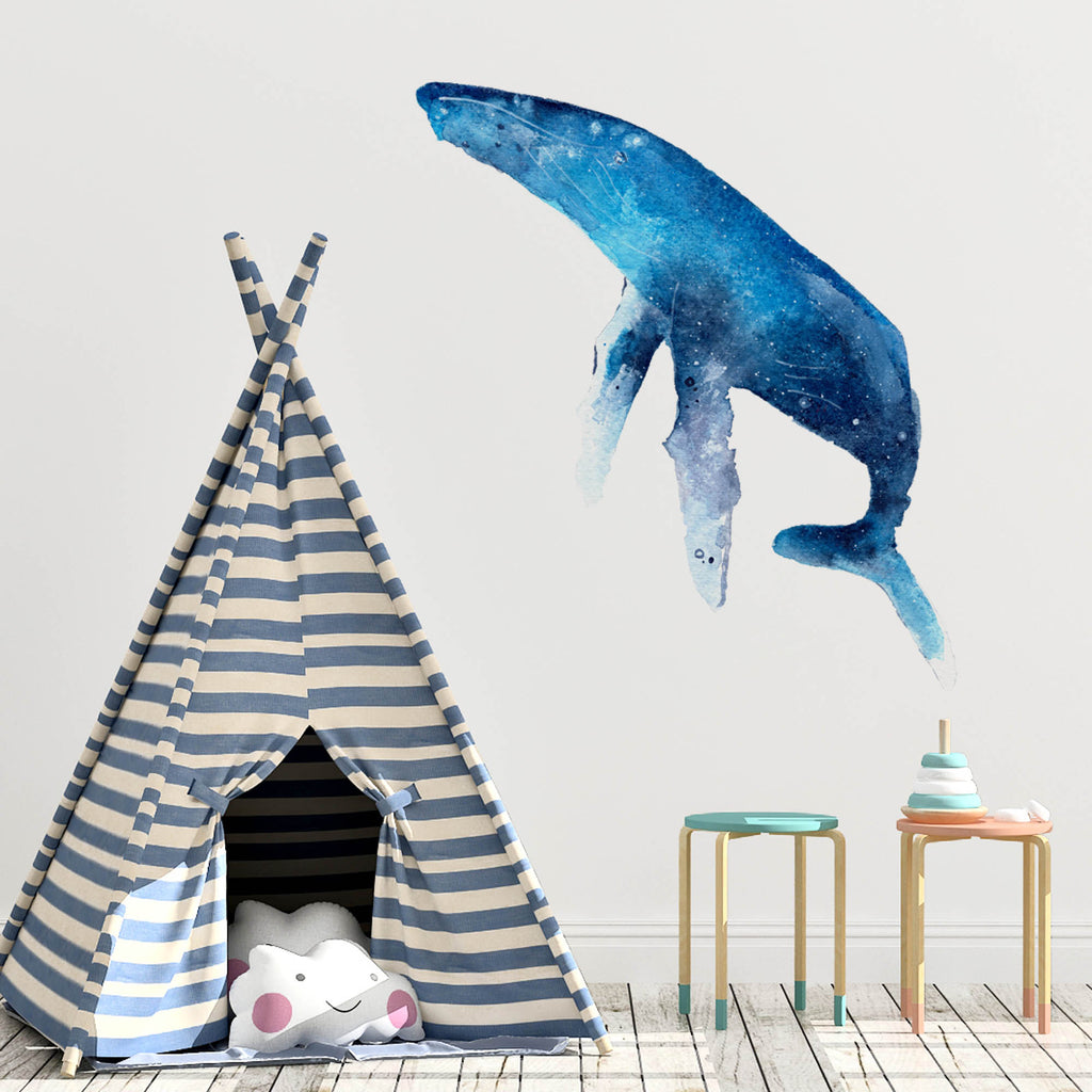 Whale Wall Sticker | CreativeIngrid - CreativeIngrid | Ingrid Sanchez