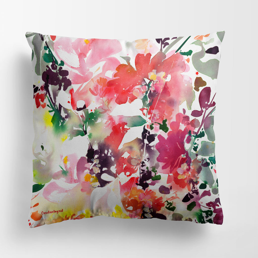 Enchanted Garden Pillow Case | CreativeIngrid - CreativeIngrid | Ingrid Sanchez