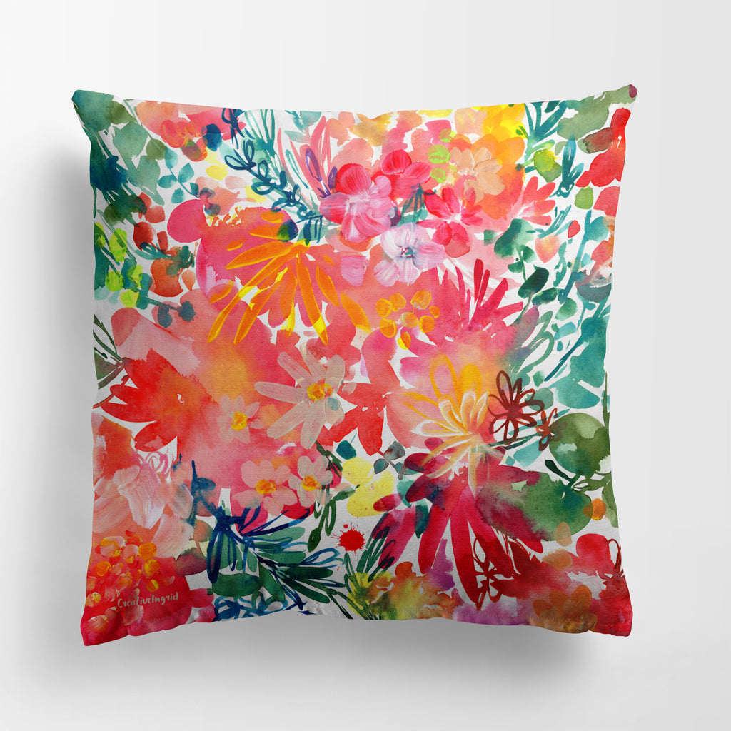 Endless Garden Pillow Case | CreativeIngrid - CreativeIngrid | Ingrid Sanchez