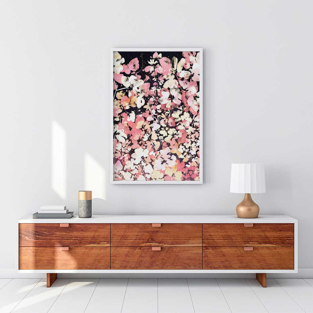 Floral Rise, Original Art | Ingrid Sanchez - CreativeIngrid | Ingrid Sanchez