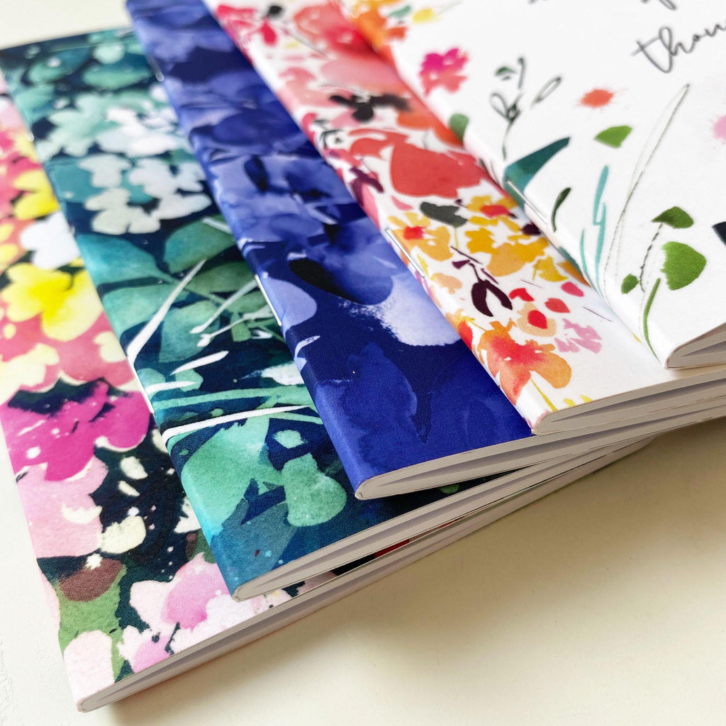 Floral Immersion, notebook | CreativeIngrid - CreativeIngrid | Ingrid Sanchez