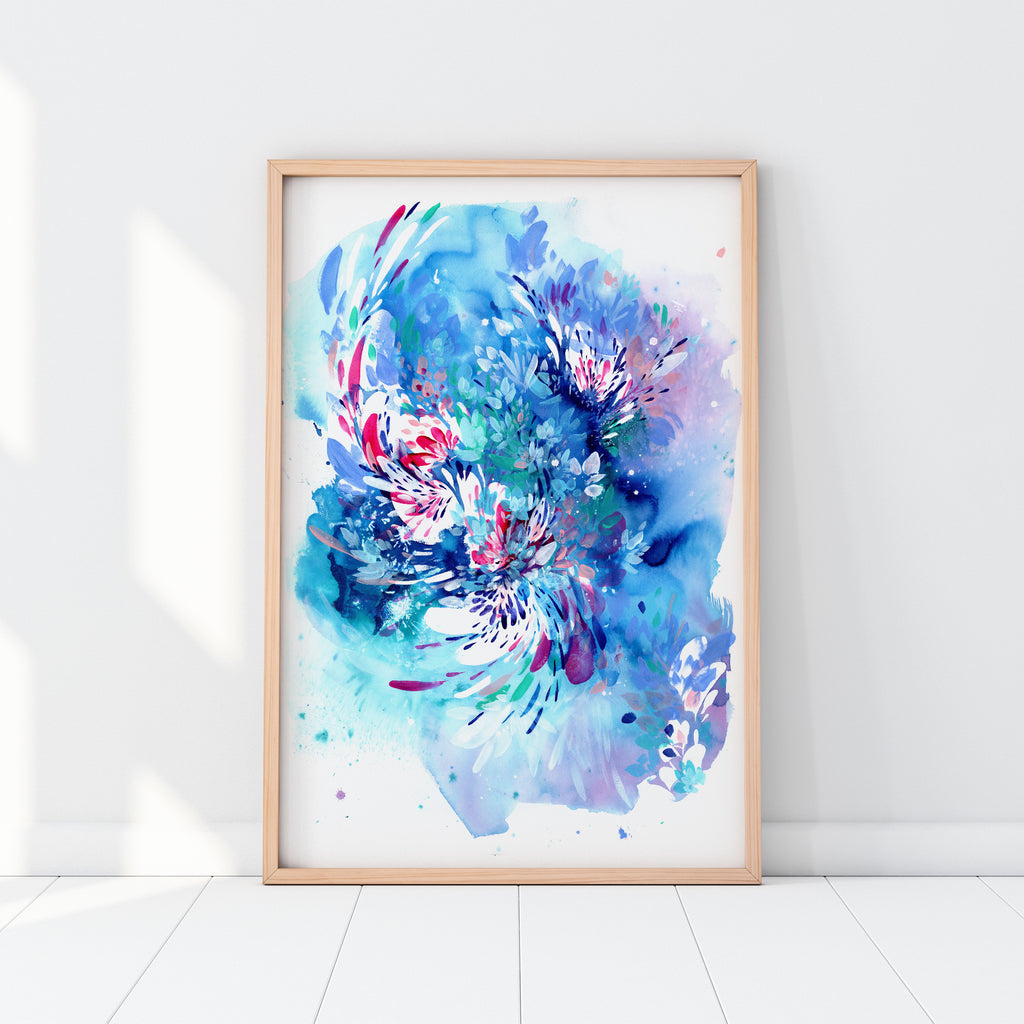 Floral Wave - CreativeIngrid | Ingrid Sanchez