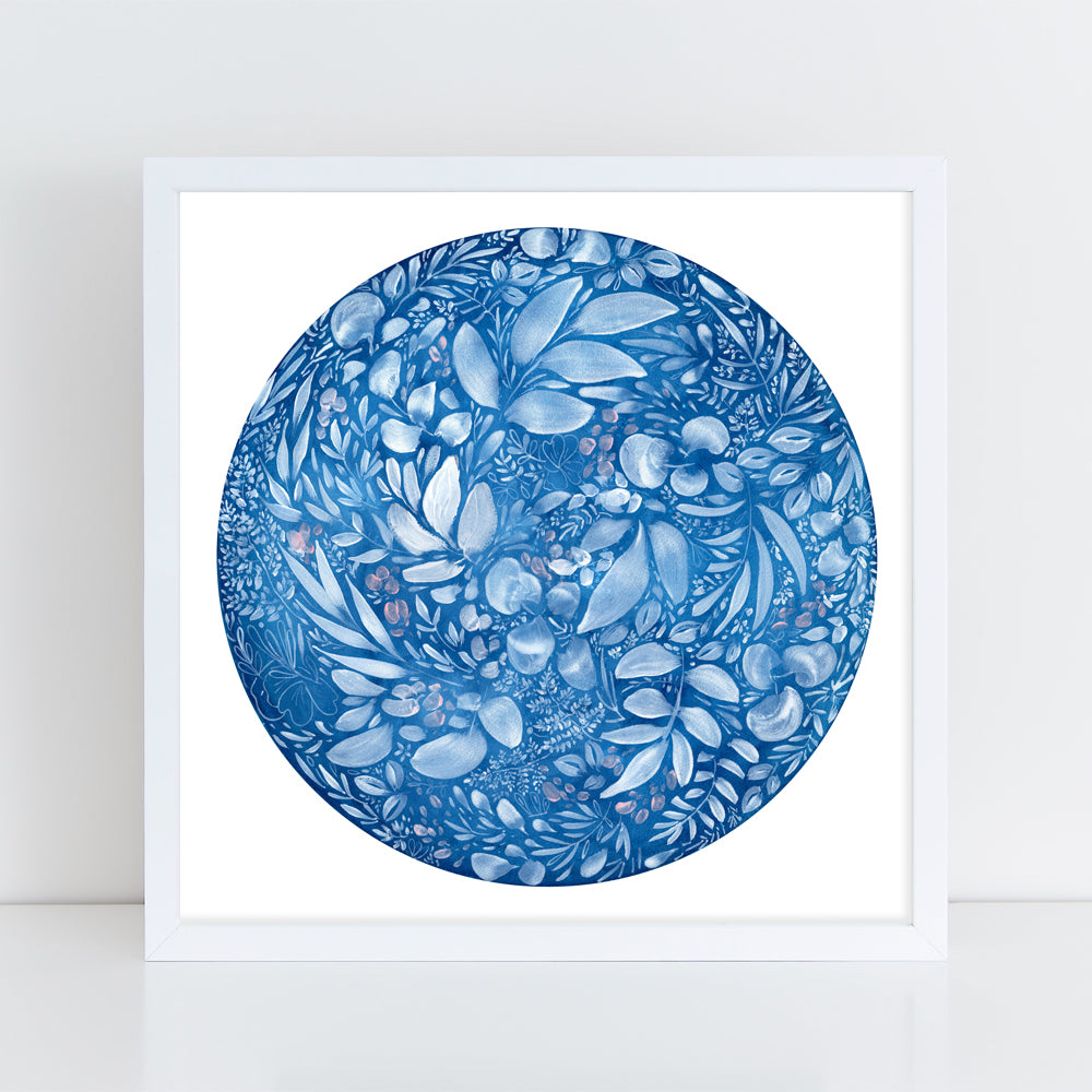 Full Flower Moon - Art Print - CreativeIngrid | Ingrid Sanchez