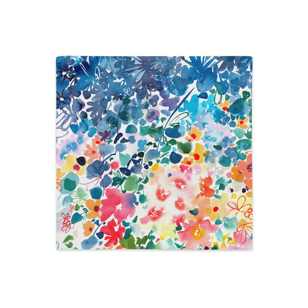 Floral Stardust Pillow Case | CreativeIngrid - CreativeIngrid | Ingrid Sanchez