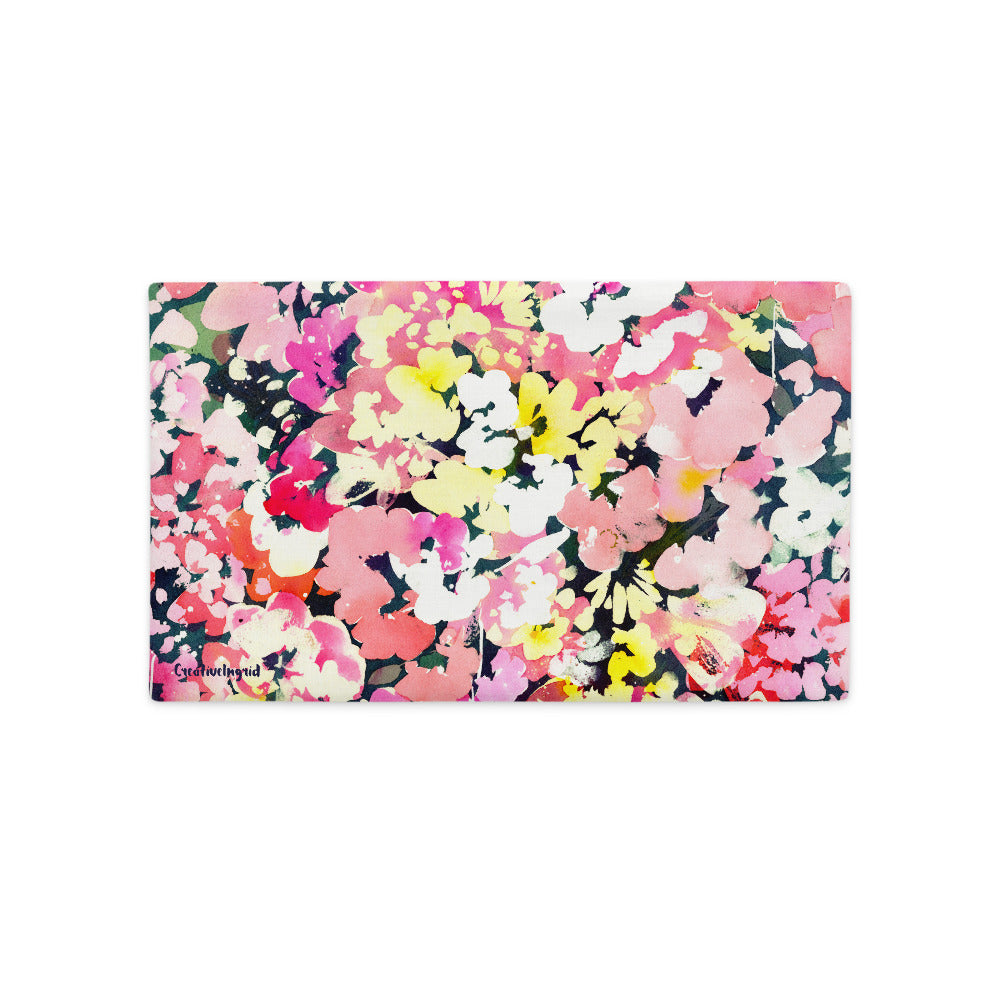 Floral Immersion Pillow Case | CreativeIngrid - CreativeIngrid | Ingrid Sanchez