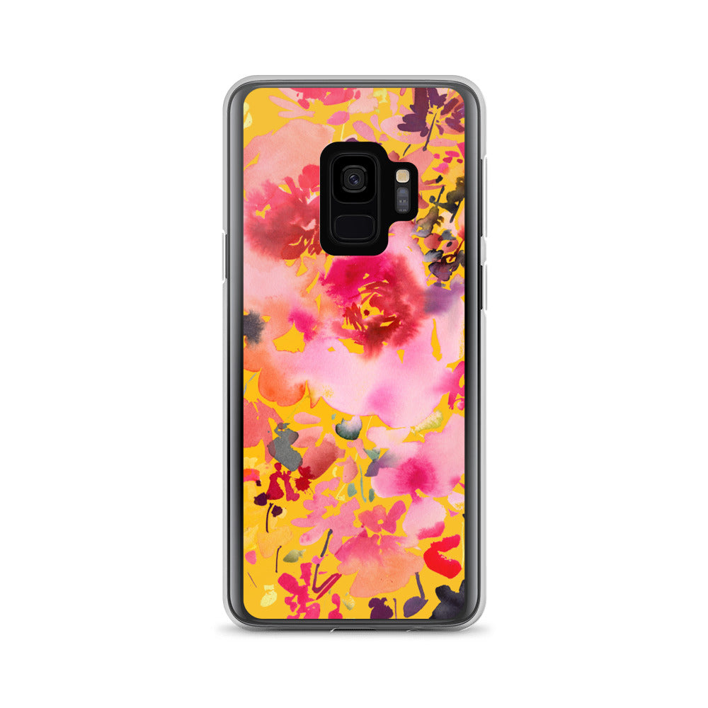 Grand Bouquet Yellow Samsung Case | CreativeIngrid - CreativeIngrid | Ingrid Sanchez