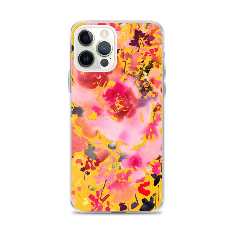 Grand Bouquet Yellow iPhone Case | CreativeIngrid - CreativeIngrid | Ingrid Sanchez