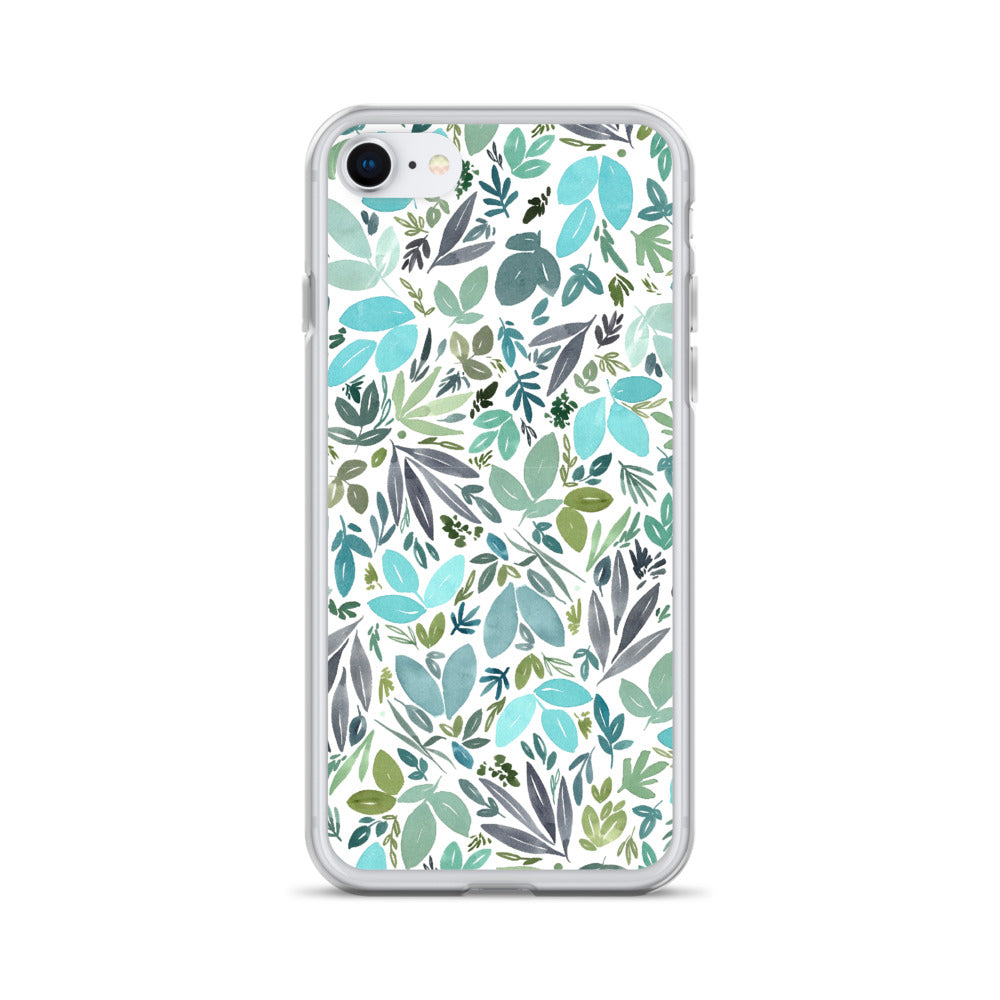 Only Leaves iPhone Case | CreativeIngrid - CreativeIngrid | Ingrid Sanchez