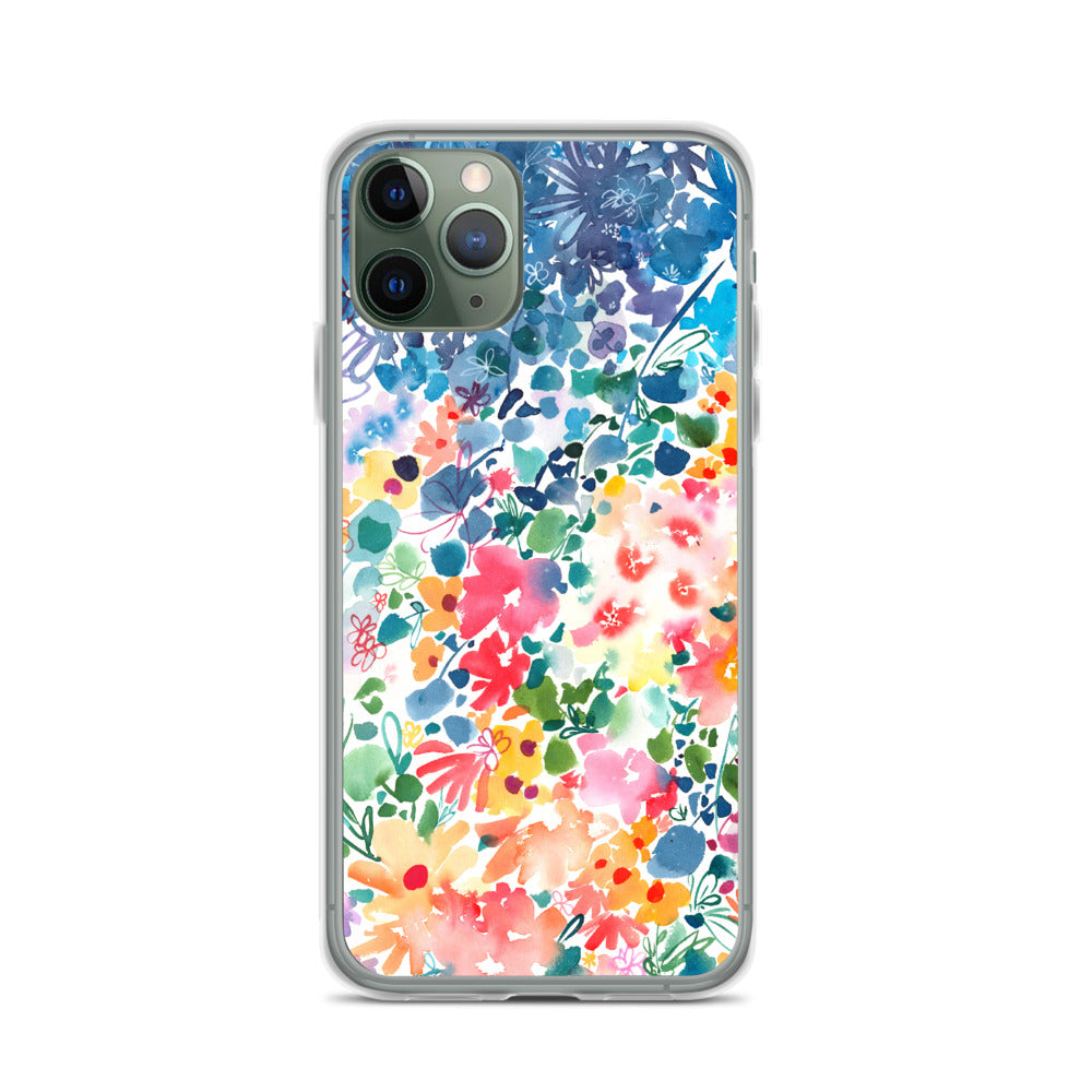 Floral Stardust iPhone Case | CreativeIngrid - CreativeIngrid | Ingrid Sanchez