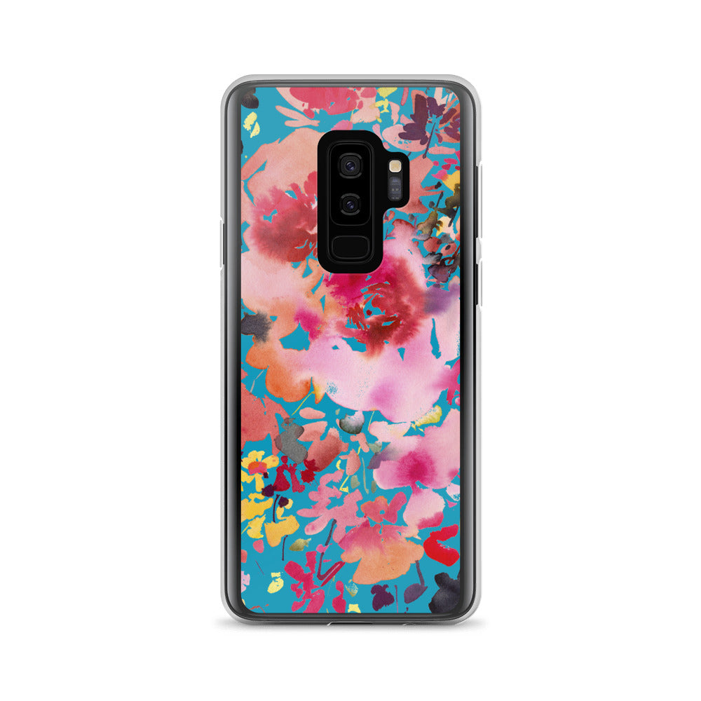 Grand Bouquet Blue Samsung Case | CreativeIngrid - CreativeIngrid | Ingrid Sanchez