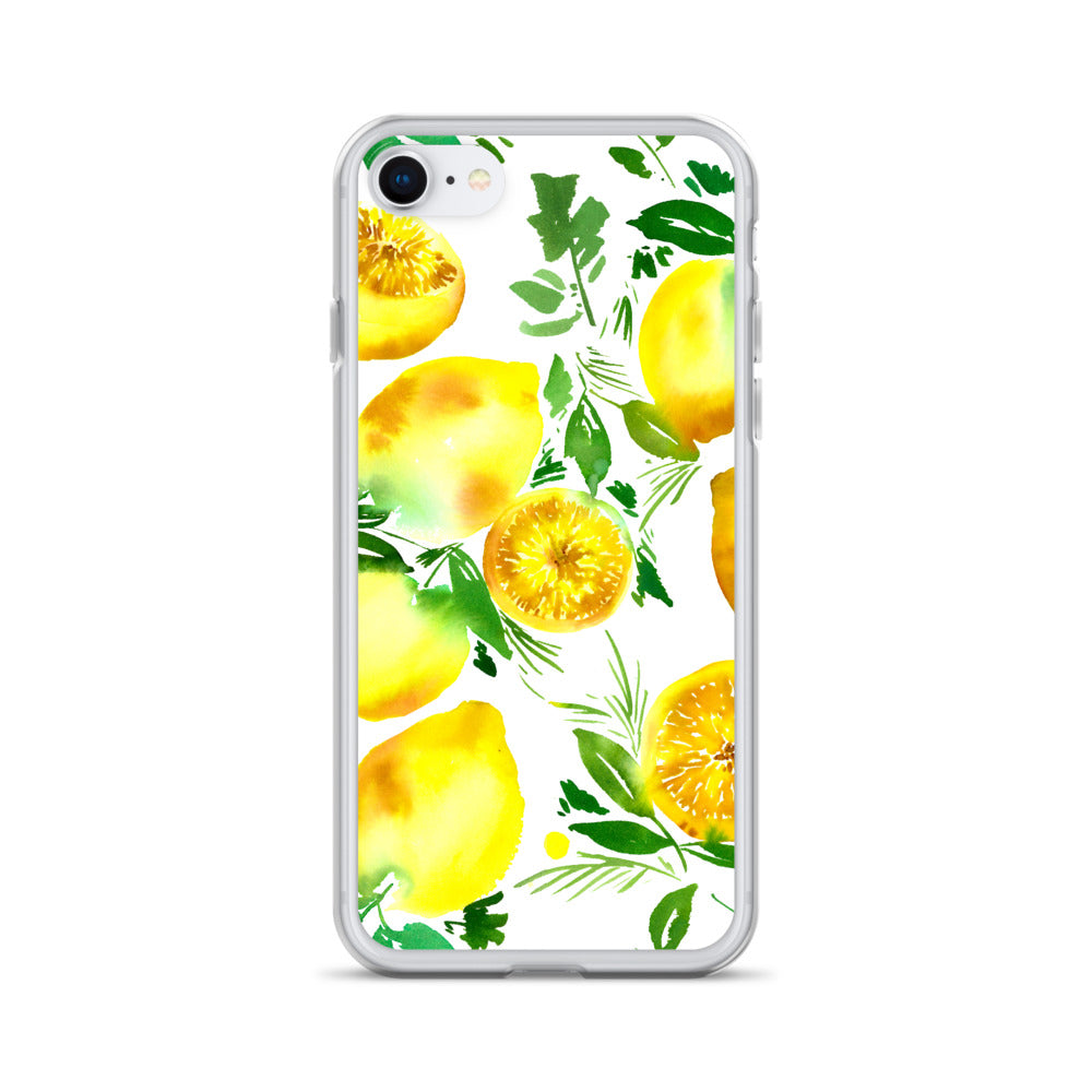Lemons iPhone Case | CreativeIngrid - CreativeIngrid | Ingrid Sanchez