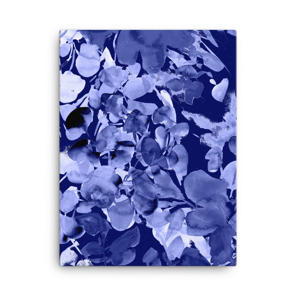 Blue Chelsea, Canvas Print | CreativeIngrid - CreativeIngrid | Ingrid Sanchez
