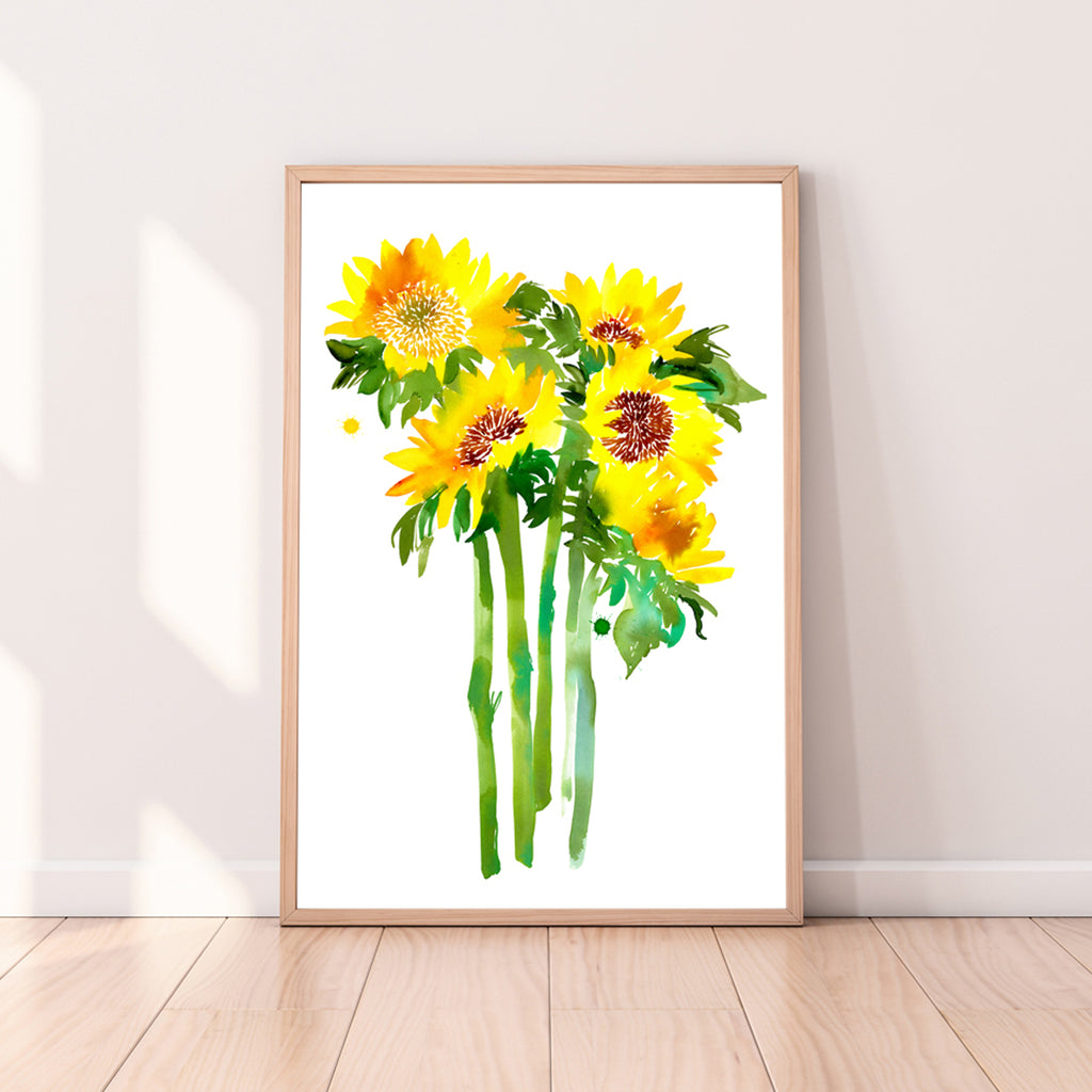 Sunflowers - CreativeIngrid | Ingrid Sanchez