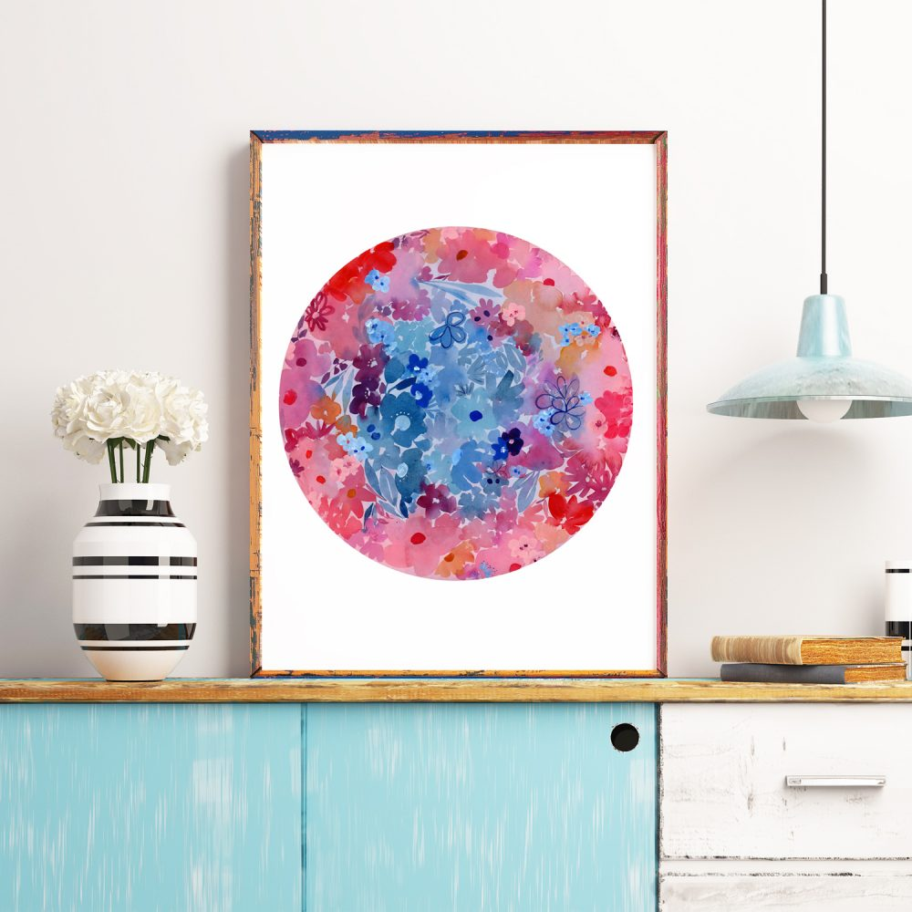 Super Flower Moon - CreativeIngrid | Ingrid Sanchez