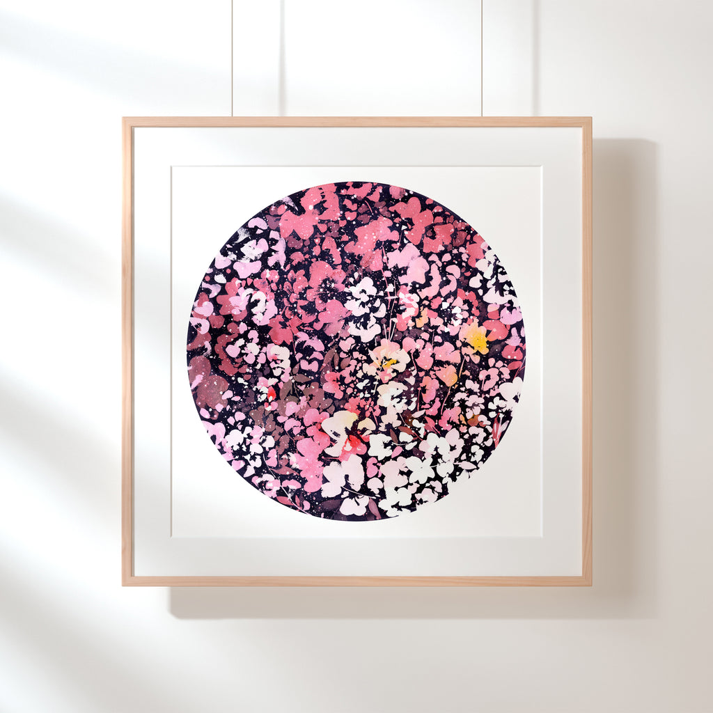 Under the Pink Moon, Art Print | CreativeIngrid - CreativeIngrid | Ingrid Sanchez