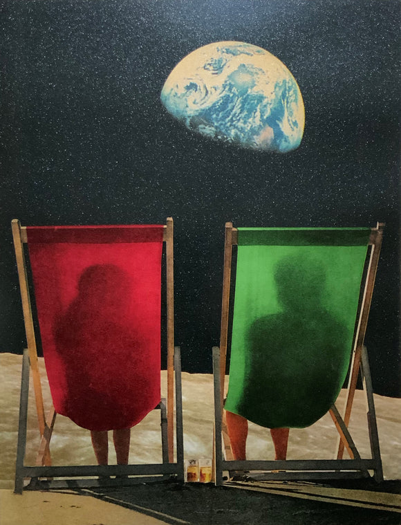 Joe Webb Limited Edition print of ballet dancer in space
