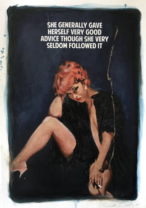 The Connor Brothers Pulp Fiction Book cover image Good Advice