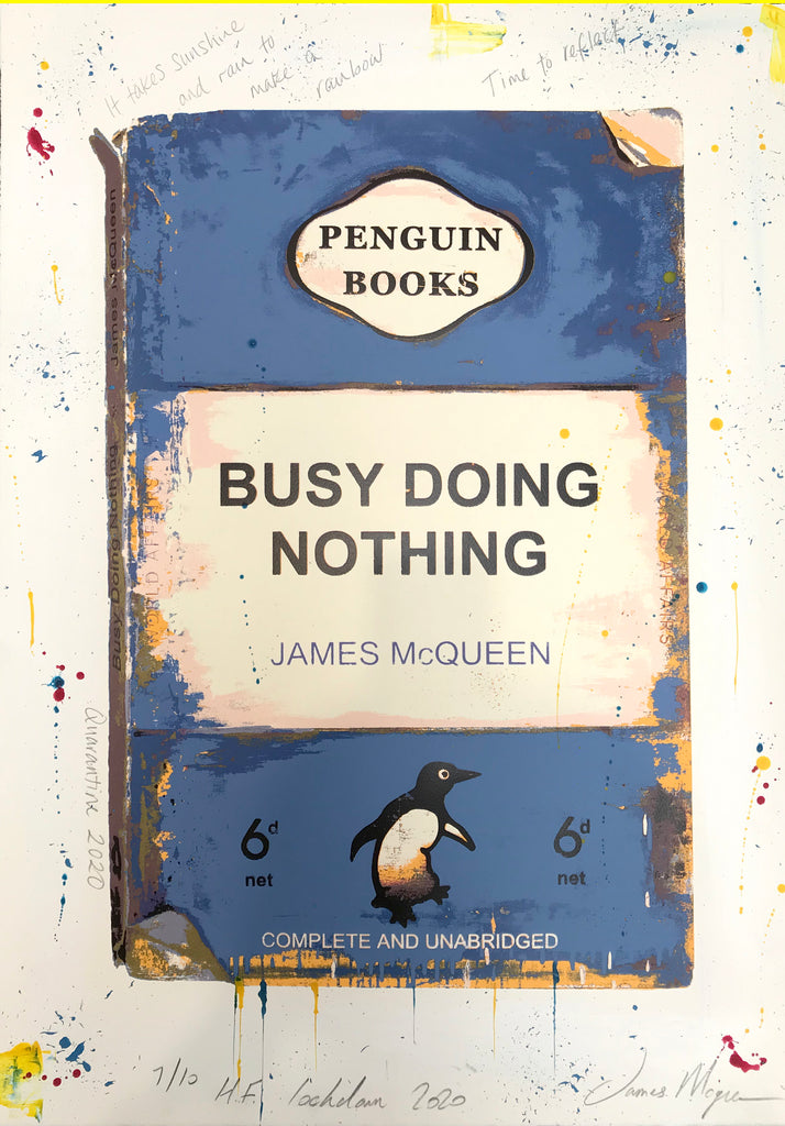 James McQueen | Busy Doing Nothing (Lockdown 2020) Blue