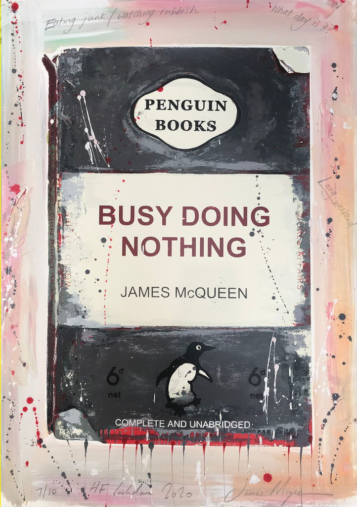 James McQueen | Busy Doing Nothing (Lockdown 2020) Grey