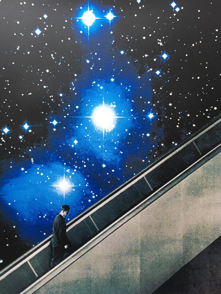 Ascension | Joe Webb | Limited Edition Silkscreen Print