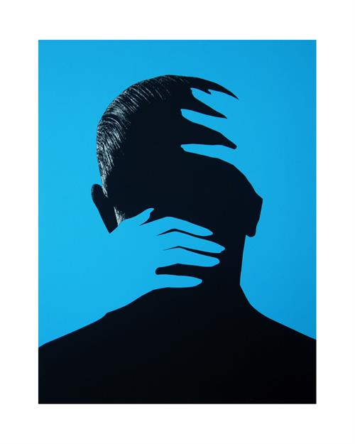 Embrace (Blue) | Joe Webb | Limited Edition Silkscreen