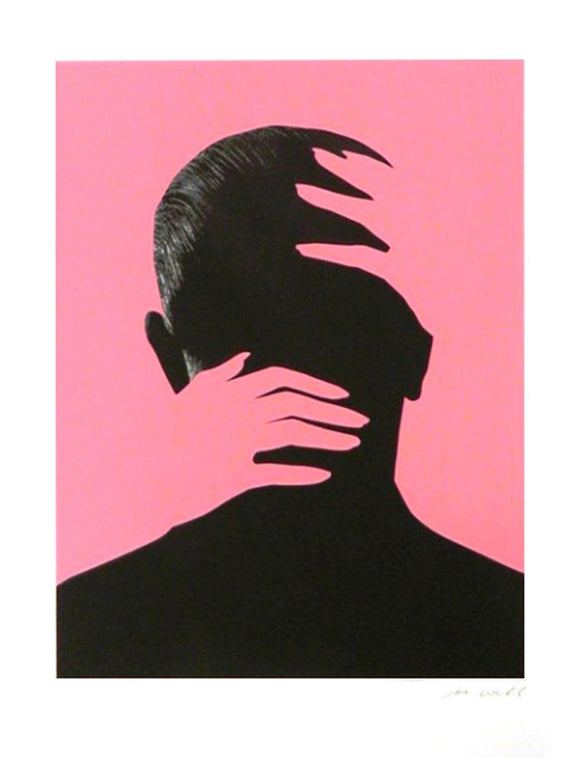 Embrace (Pink) | Joe Webb | Limited Edition Silkscreen