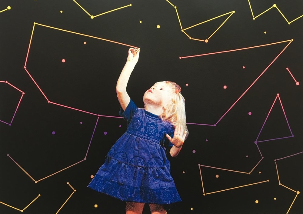 In The Sky With Diamonds | Joe Webb | Limited Edition Silkscreen Print