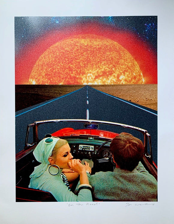 On The Road | Joe Webb | Limited Edition Silkscreen Print