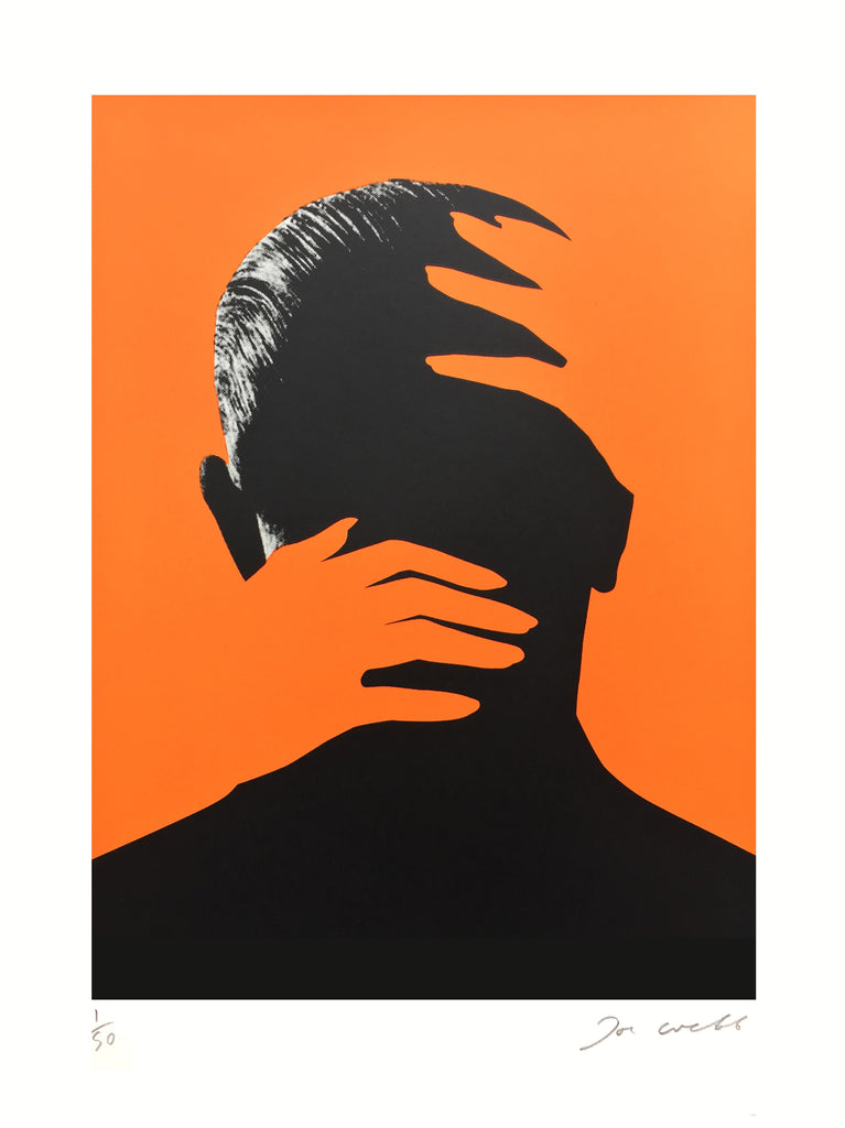 Embrace Orange | Joe Webb | Limited Edition Silkscreen Print