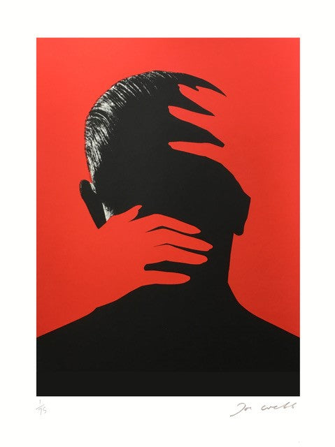 Embrace (Red) | Joe Webb | Limited Edition Silkscreen