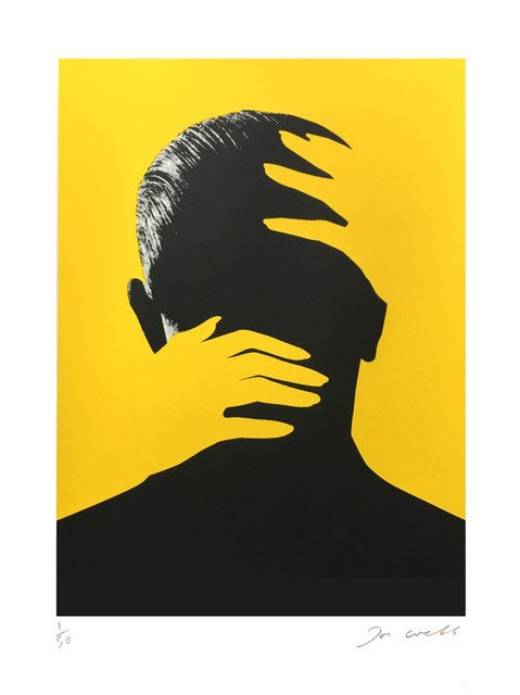 Embrace Yellow | Joe Webb | Limited Edition Silkscreen Print