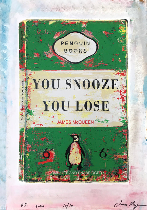 James McQueen | You Snooze You Lose - Green