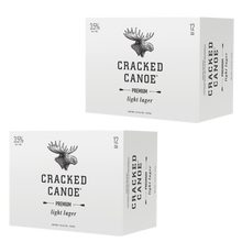 Laden Sie das Bild in den Galerie-Viewer, Moosehead Cracked Canoe 473 ml Dose 24er Pack