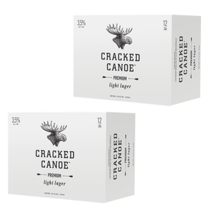 Moosehead Cracked Canoe 473 ml Dose 24er Pack