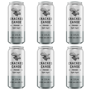 Moosehead Cracked Canoe 473 ml Dose 6er Pack