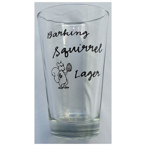 Moosehead Barking Squirrel Glas 355 ml