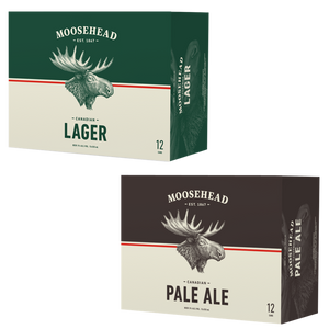 Moosehead Lager und Pale Ale Dose 355 ml 24er Pack