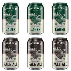Moosehead Lager und Pale Ale Dose 355 ml 12er Pack