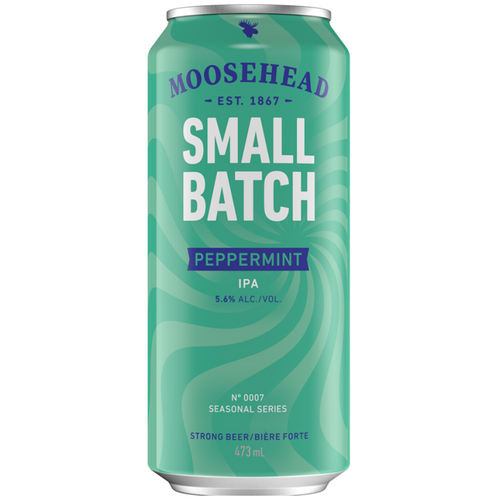 Moosehead Small Batch Peppermint IPA 473 ml Dose. Kanadisches Bier