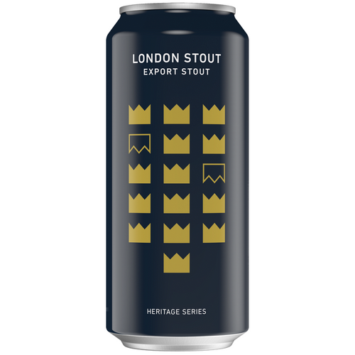 Mooshead Small Batch London Stout Export Stout 473 ml Dose. Kanadisches Bier