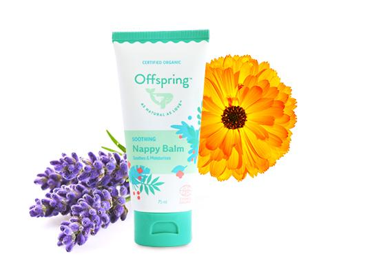 Offspring Soothing Nappy Balm - 75ml