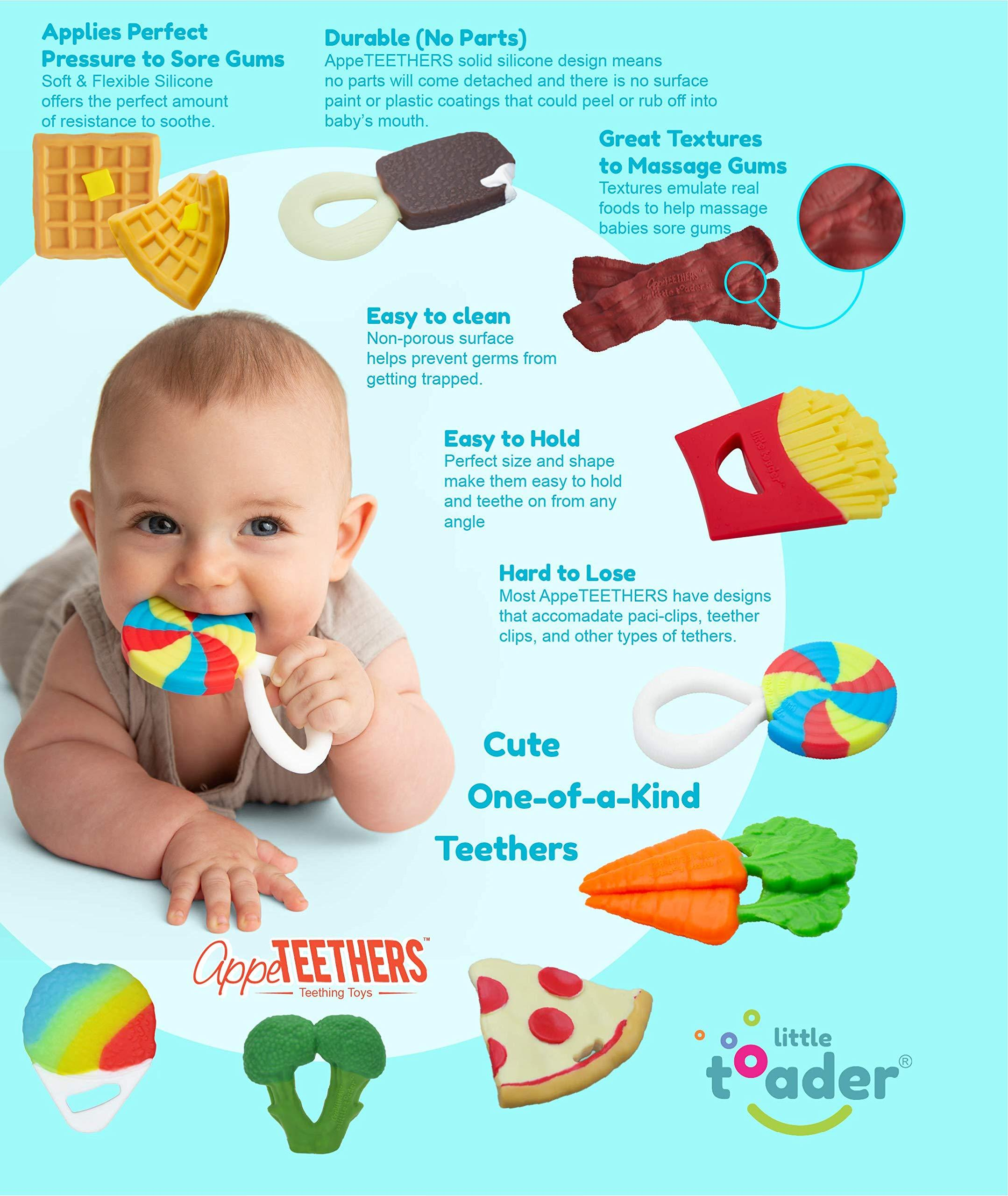 Little Toader Teether-Snow Cone