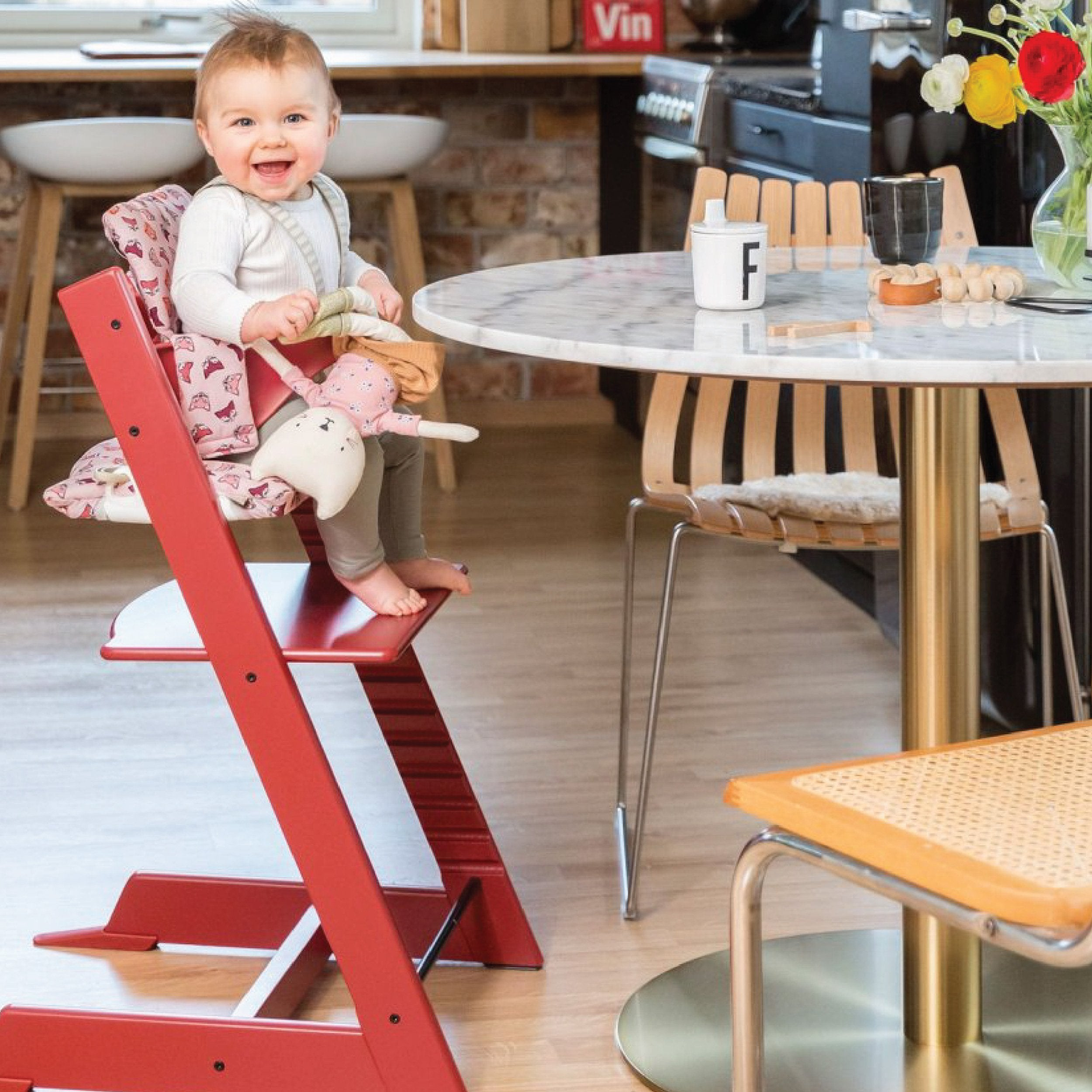 Stokke Tripp Trapp Chair (Hazy Grey)