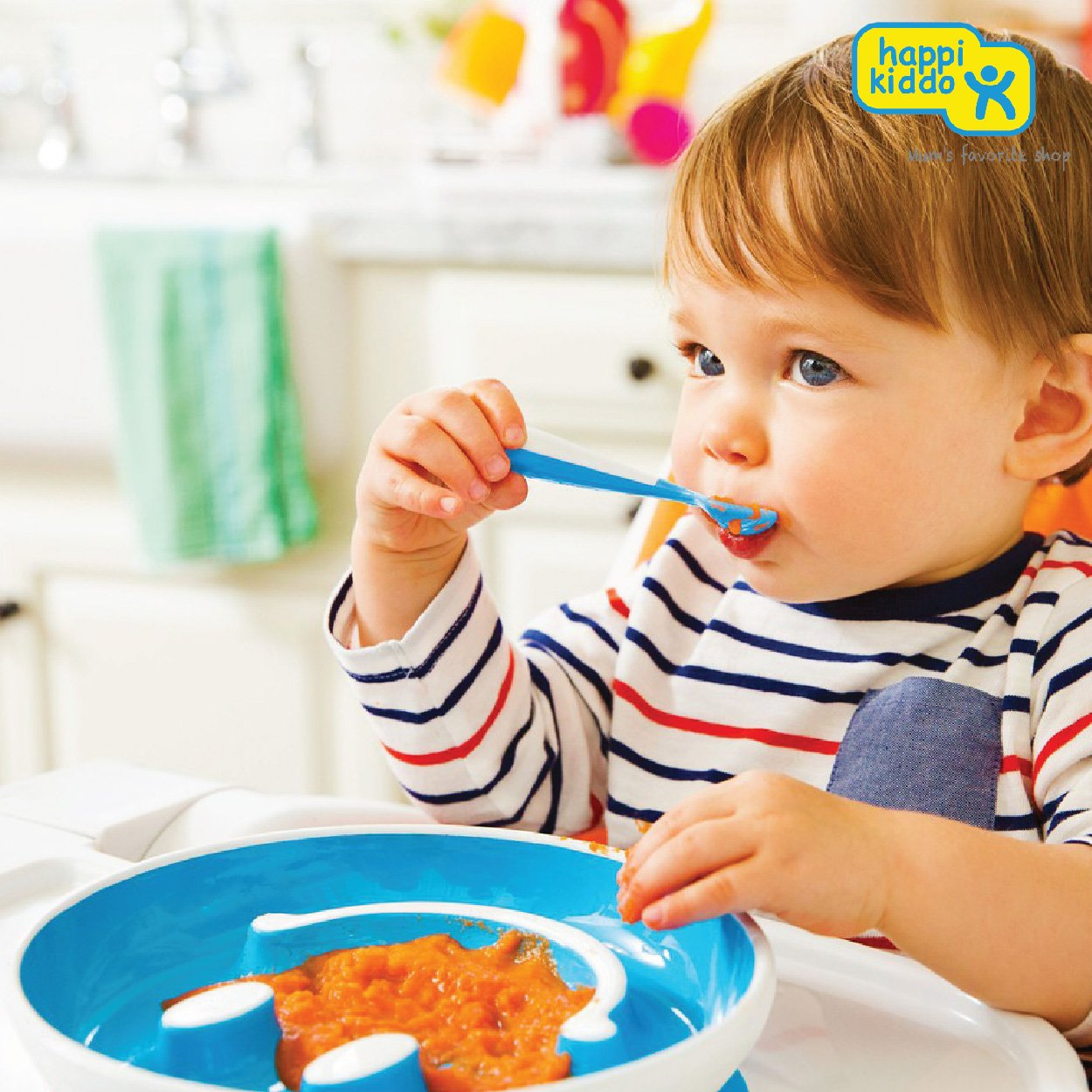 Munchkin Smile n Scoop Plate (Assorted Colours)