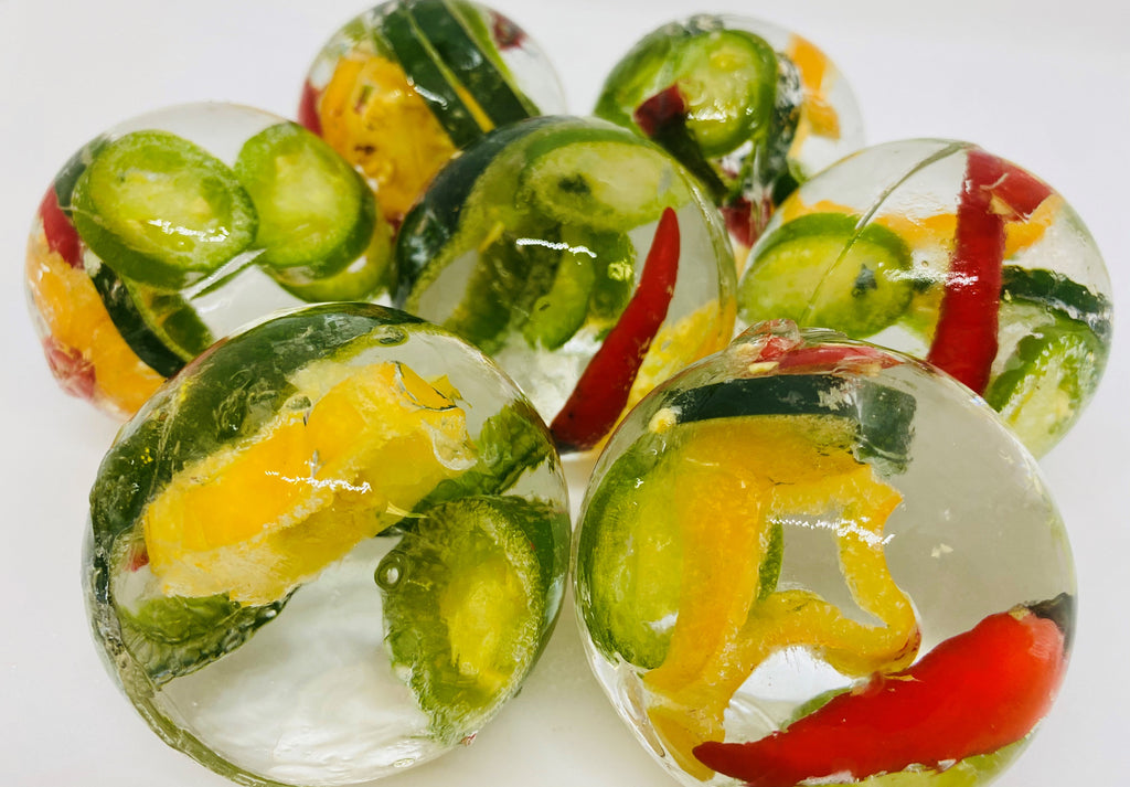 Clear LushICE - Pepper/Cucumber Collection