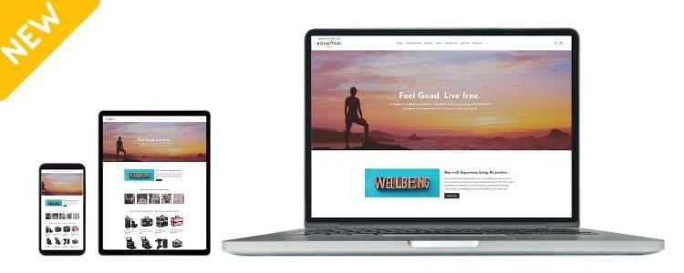 Buy this Wellbeing Website - 'Holistical' Online Store - 100% Australian Based Dropship Supplier Tyack Ecommerce Solutions