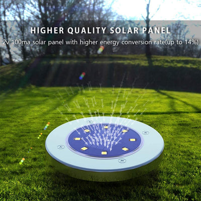 Calden™ Solar Powered Garden LED Lighting