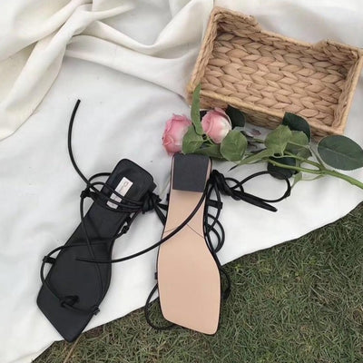 Güzel Strap-up Sandals by SIA